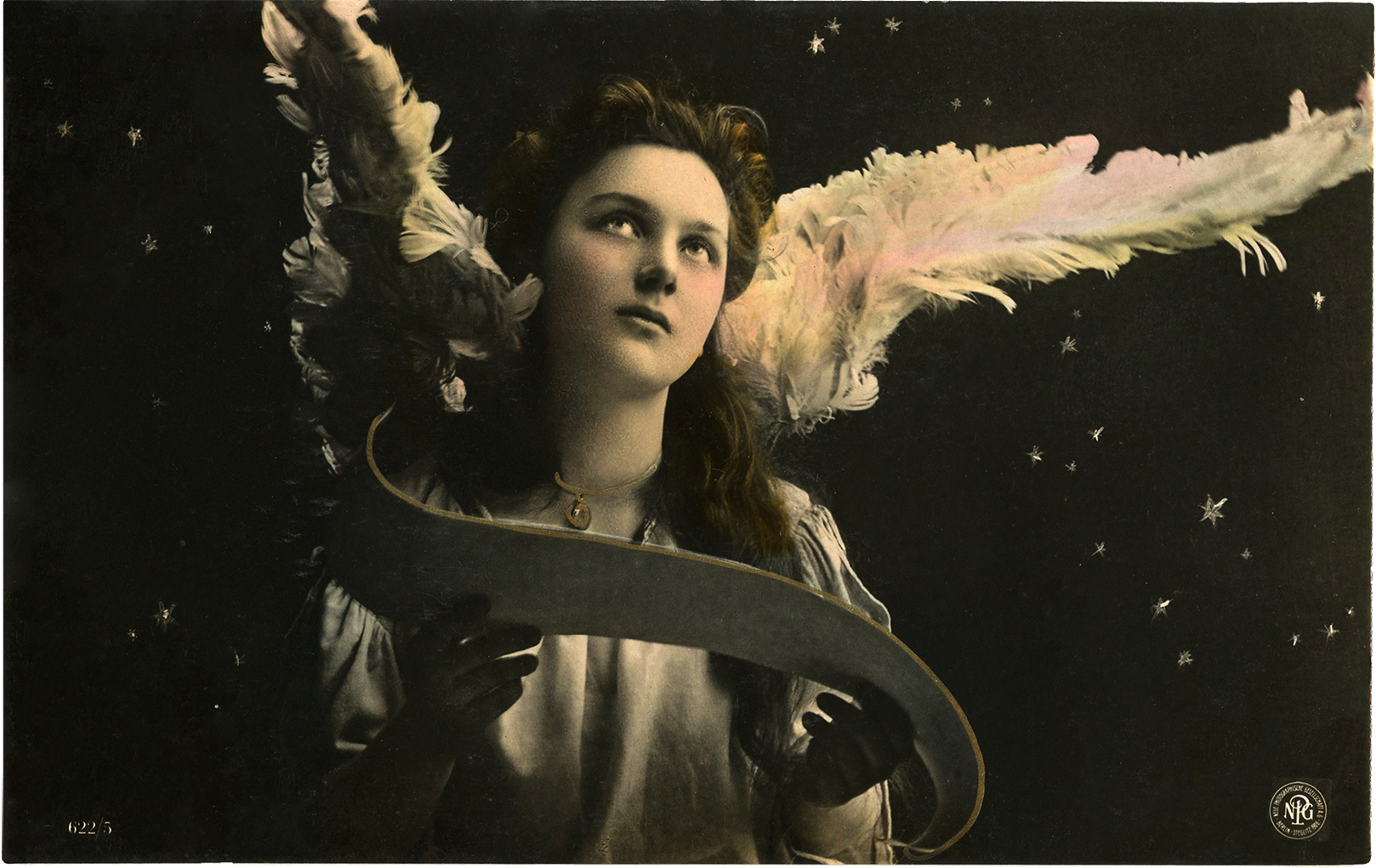 Antique Angel @ The Graphics Fairy- Alison Crowe's Musical Advent Calendar