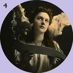 Allison Crowe's Musical Advent Calendar - Let It Be - Antique Angel