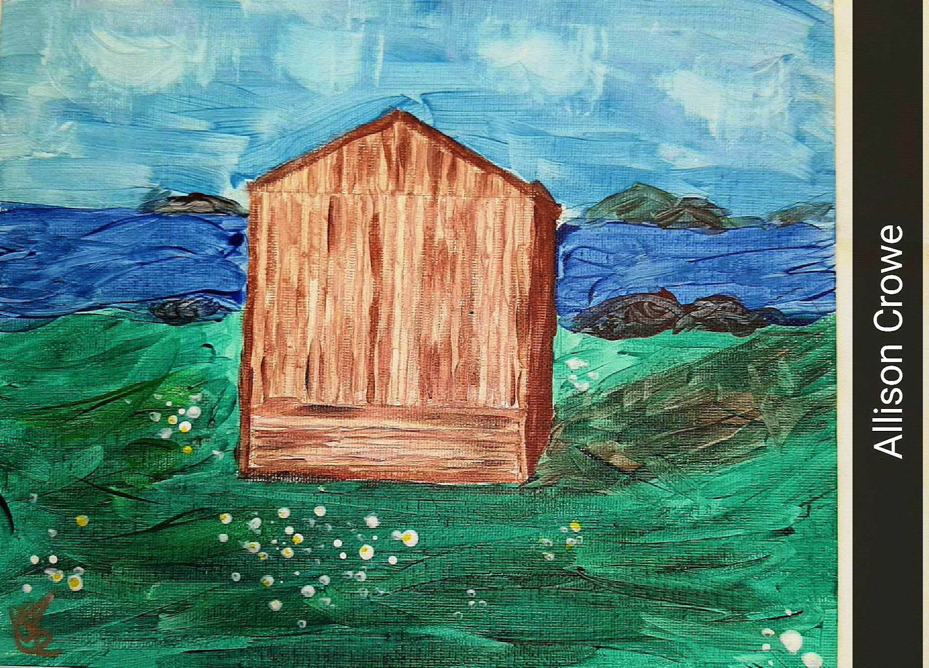 Allison Crowe - Kidney Foundation - A Brush of Hope - 2015 painting