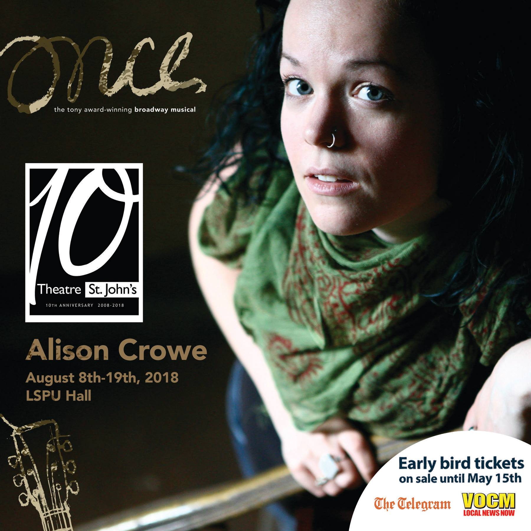 Once - Theatre St. John's - Allison Crowe