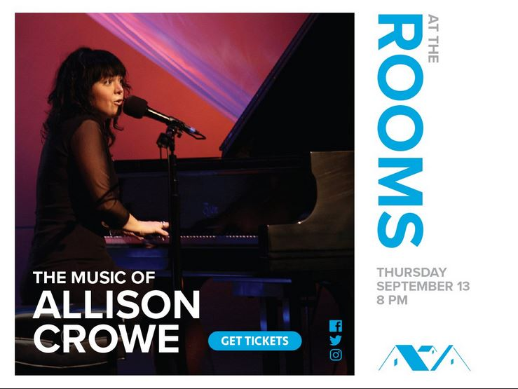 Allison Crowe at The Rooms - September 13, 2018