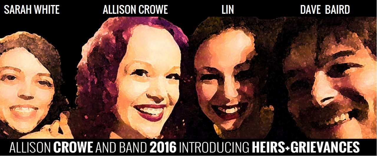 Allison Crowe, LIN, Sarah White & Dave Baird - Introducing / Heirs+Grievances 2016 - North American Tour