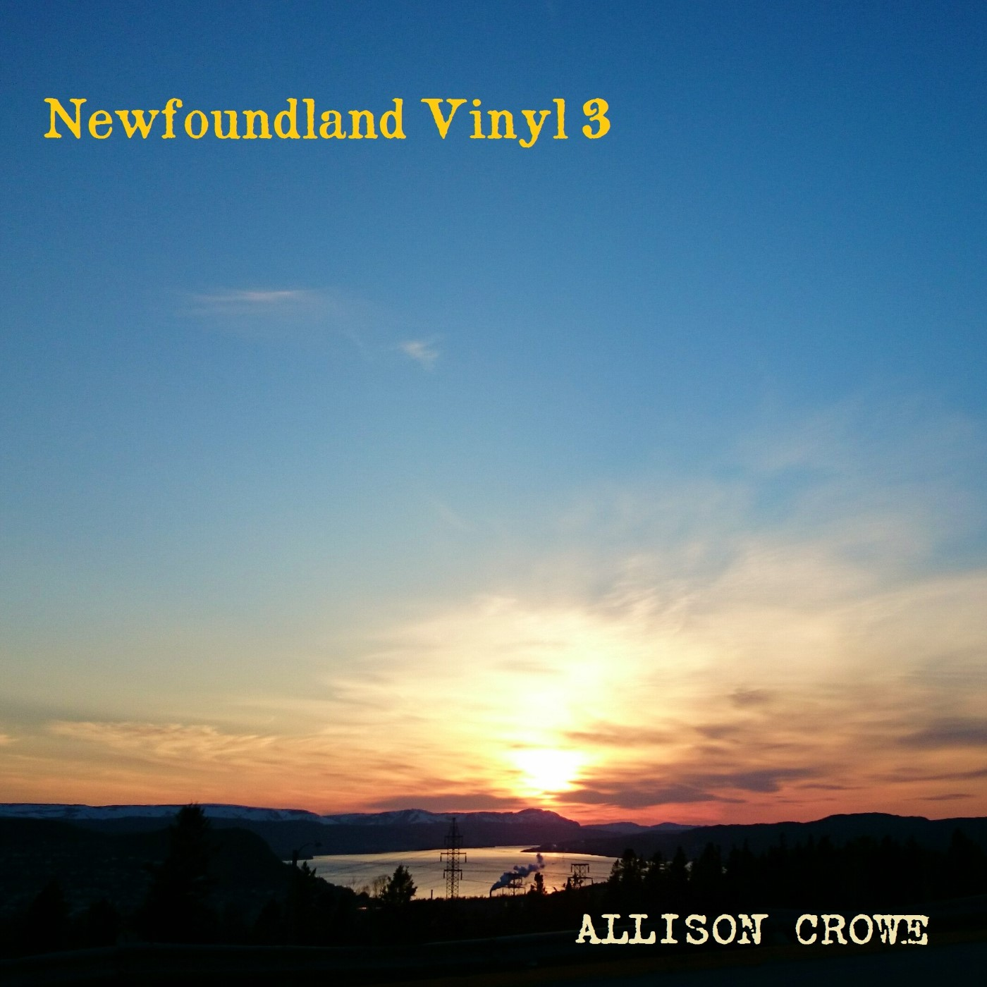 Newfoundland Vinyl 3 - Allison Crowe - album cover