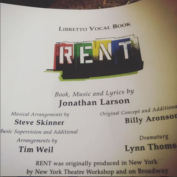 RENT - Allison Crowe - The Off Broadway Players