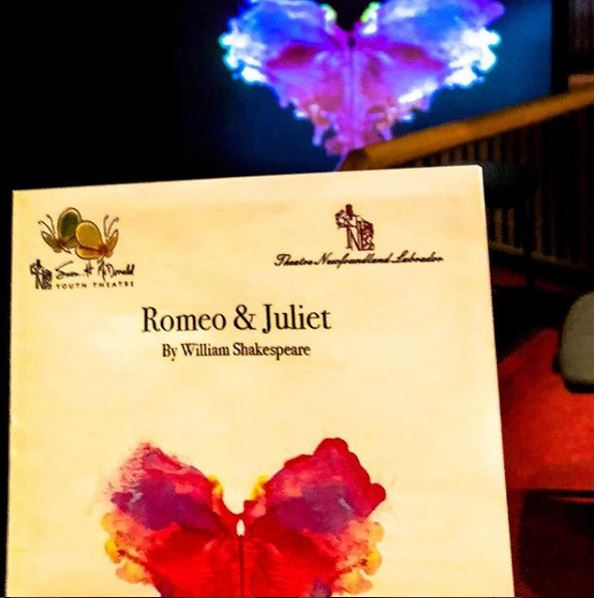 Romeo and Juliet opens - April 26, 2018 - Allison Crowe