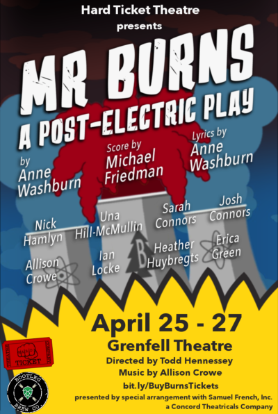 Mr. Burns, a Post-Apocalyptic Play - Allison Crowe and Simpsonic Friends