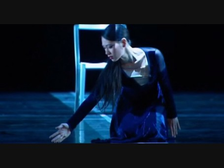"Sophia Lee in performance of ""The Doorway: Scenes from Leonard Cohen"" - Royal Winnipeg Ballet"