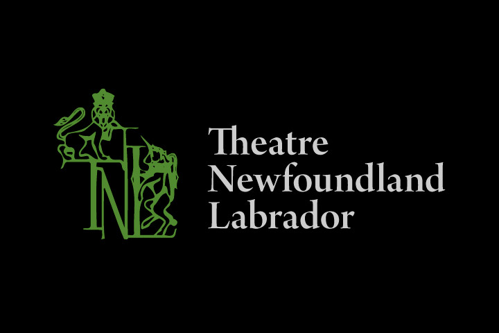 Theatre Newfoundland and Labrador - logo - opening night w. Allison Crowe
