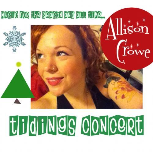 Tidings Concert - album cover 500 - Allison Crowe